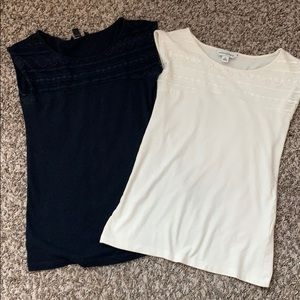 2 for 1 LACE Banana Republic TANK TOPS
